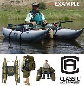 NEW CA 8' BOZEMAN PONTOON BOAT CLASSIC ACCESSORIES SAGE SILVER 8 FOOT - PONTOONS BOATING BOATS FISHING OUTDOORS