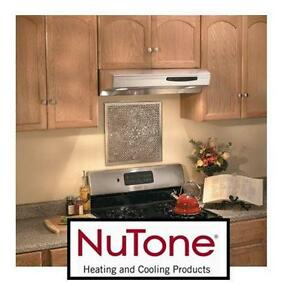 "NEW* NUTONE SS HOOD RANGE 36"" Home Appliances Cooking Range Hoods Under Cabinet STAINLESS STEEL"