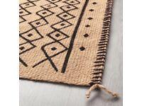 Brand new bohemian style Ikea Jassa rug