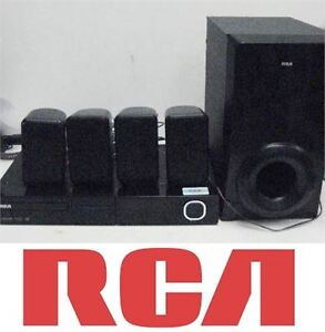 USED RCA DVD HOME THEATER SYSTEM