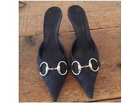 Genuine Gucci heels/kitten geels for sale, size 34