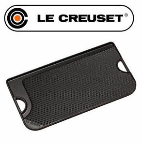 NEW* LE CREUSET REVERSIBLE GRILL GIANT REVERSIBLE ELECTRIC GRILL/GRIDDLE - BLACK HOME KITCHEN APPLIANCE 99587835