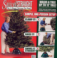 SWIVEL-STRAIGHT ONE-MINUTE CHRISTMAS TREE STAND