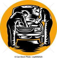Car repair shop open Sunday, come in for any repair.