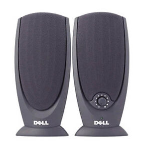 Dell A215 Black Multimedia 2 Channel Computer Speakers 0Y9259