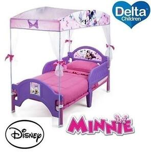 NEW DELTA MINNIE MOUSE CANOPY BED - 113606413 - DISNEY - TODDLER - KIDS