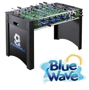 "NEW OB BLUE WAVE 48"" SOCCER TABLE 48 INCH FOOSBALL TABLE - TOY GAME RECREATION SPORT SPORTS 76482336"