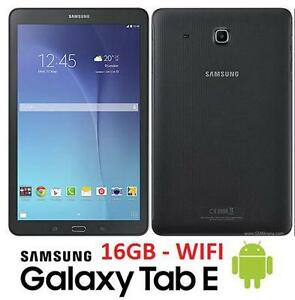 "REFURB SAMSUNG GALAXY TAB E TABLET ANDROID TABLET 9.6"" - BLACK INTERNET COMPUTER DOWNLOAD 79928344"