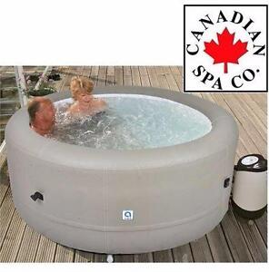 "NEW CANADIAN SPA INFLATABLE SPA 29""   4-PERSON - Outdoor Living Hot Tubs & Saunas Hot Tubs Hot Tubs 93423154"