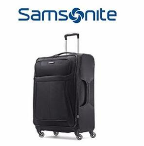 "NEW SAMSONITE 25"" LEVIT8 LUGGAGE   SPINNER - CHARCOAL - LUGGAGE LEVIT8 LITE SUITCASE TRAVEL BAGGAGE 97531807"