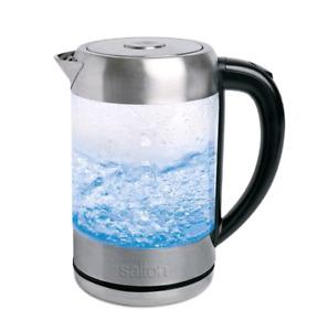 Bouilloire en verre sans fil salton neuve