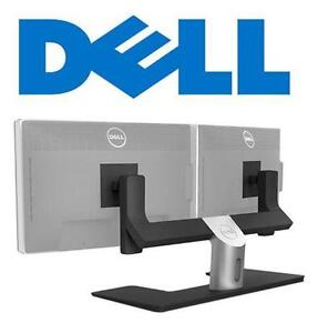 NEW* DELL DUAL VESA STAND MOUNTS stand can support monitors up to 14.3 pounds and screen sizes up to 24 inches