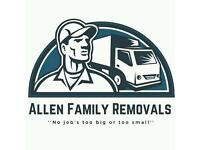 Cheap professional 5 star rated business on FB! man and van service and house removals.