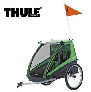 NEW THULE CADENCE BICYCLE TRAILER  BICYCLE TRAILER, GREEN BIKE TRAILER  Baby › Travel Gear › Strollers  77715342
