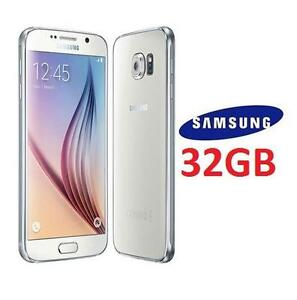 NEW OB SAMSUNG GALAXY S6 SMARTPHONE 32GB - WHITE SMART PHONE ANDROID CELL PHONE 110552035