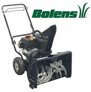 "NEW BOLENS SNOW THROWER 22"" 179CC - SNOW BLOWER 179CC - SNOW BLOWER OUTDOOR WINTER SNOW REMOVAL  82202553"