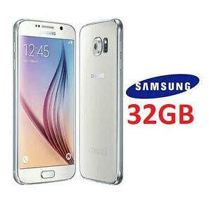 NEW OB SAMSUNG GALAXY S6 SMARTPHONE - 110552035 - 32GB - WHITE SMART PHONE ANDROID CELL PHONE