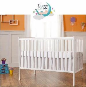 NEW DOM SYNERGY CONVERTIBLE CRIB   5-IN-1 CONVERTIBLE CRIB - WHITE BABY HOME FURNITURE NURSERY BEDROOM 99065757
