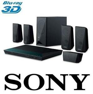 NEW SONY BDVE3100 1000-WATT 5.1 CHANNEL 3D BLU-RAY HOME THEATRE SYSTEM