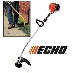 NEW* ECHO 21.2CC GAS LAWN TRIMMER 2-CYCLE - 21.2CC CURVED SHAFT Outdoor Power Equipment 78207452