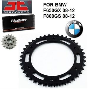 NEW X-RING CHAIN T SPROCKET KIT BMW F650GS ABS F800GS