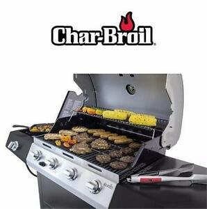 NEW* CHAR-BROIL 4 BURNER GAS GRILL 466433016 - 10,000 BTU - SIDE BURNER BARBECUE BBQ COOKING GRILLING   82592640