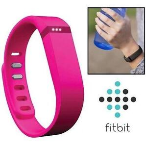REFURB FITBIT FLEX FITNESS TRACKER WIRELESS - PINK- EXERCISE - FITNESS 105893598