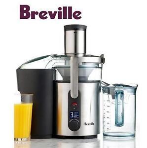 USED BREVILLE JUICE FOUNTAIN   IKON - MULTI SPEED - JUICER SMALL KITCHEN APPLIANCES 77043273