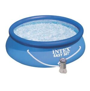 """8' x 30"""" pool with pump filter and all the chemicals, tester spa"""