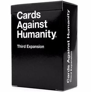 CARDS AGAINST HUMANITY EXPANSION   THIRD EXPANSION - BOARD CARD GAMES PLAY 97701169