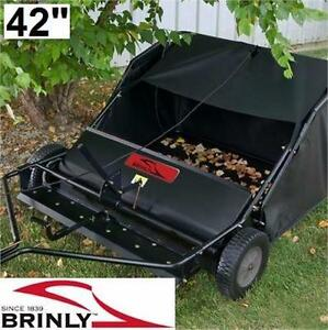 "NEW BRINLY-HARDY LAWN SWEEPER 42"" POWER EQUIPMENT - OUTDOOR LEAF LAWN LEAVES  84191933"