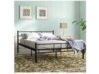 King Size Metal Bed frame for sale