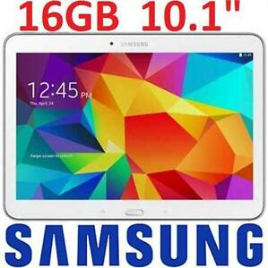REFURB SAMSUNG GALAXY TAB 4 16GB   10.1 WI-FI WHITE TABLET - ELECTRONICS  86388485