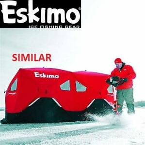 NEW ESKIMO POP-UP ICE SHELTER 19250 213968740 ICE FISHING 6 PERSON