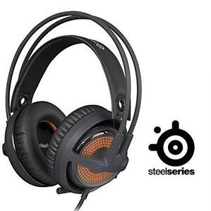 NEW STEELSERIES GAMING HEADSET SIBERIA V3 PRISM GAMING HEADSET - COOL GREY -EARPHONES HEADPHONES AUDIO 100992574