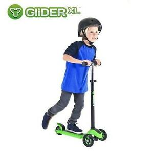 NEW YVOLUTION Y GLIDER XL SCOOTER - 115311833 - GREEN BLACK