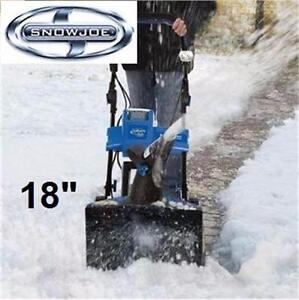 """NEW SNOW JOE 18"""" 40V SNOW BLOWER CORDLESS ELECTRIC - RECHARGEABLE SNOWBLOWER - SNOW THROWER winter snow ice 83914952"""