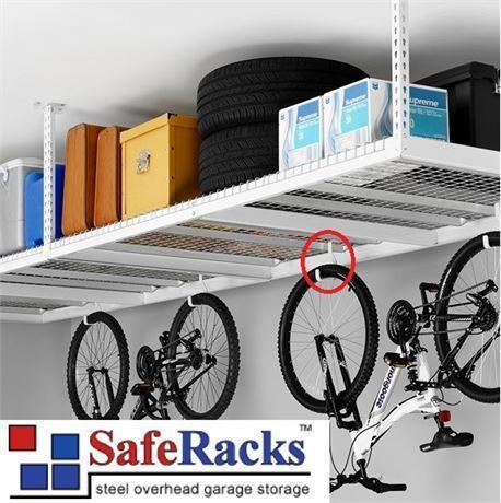 NEW* SAFERACKS OVERHEAD STORAGE GARAGE SHELVING TIRE STORAGE CEILING on 4x8 overhead storage, costco overhead storage, garage storage,