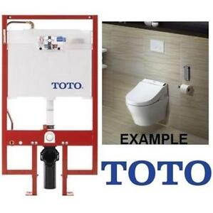New Toto In Wall Toilet Tank System Wt151m 01 207171035 1 6gpf And 0 9