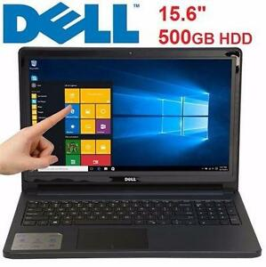 REFURB DELL TOUCHSCREEN LAPTOP I5558 INTEL CORE I3 15.6 6GBRAM 500GB HARD DRIVE WINDOWS 10 PC COMPUTER NOTEBOOK 85245378