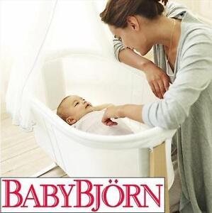 NEW BABYBJORN BABY CRADLE BABY CRIB - CRADLE, WHITE 108998411