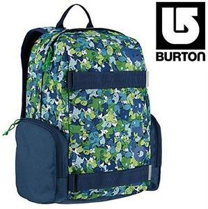 NEW BURTON SCHOOL BACKPACK EMPHASIS BACKPACK - SASQUATCH PRINT - SCHOOL SUPPLIES  TRAVEL GEAR BAG STUDENT SCHOOL 8112075