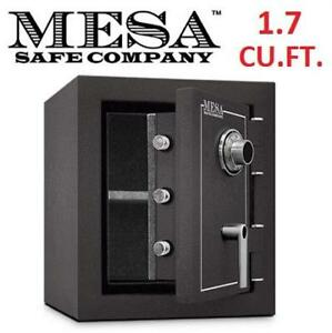 NEW MESA BURGLARY/FIRE SAFE MBF-1512 214617970 1.7 CU.FT. COMBINATION LOCK