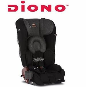 NEW DIONO CONVERTIBLE CAR SEAT   RAINIER CONVERTIBLE CAR SEAT - BLACK MIST BABY CARRIER SAFETY TRAVEL GEAR 92992931