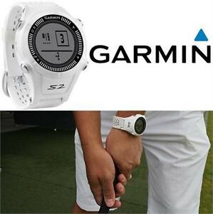REFURB GARMIN APPROACH S2 GPS WATCH GOLF WATCH - WHITE - W/ WORLDWIDE COURSES