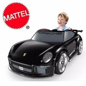 NEW MATTEL PORSCHE KID'S TOY CAR 12V Mattel Power Wheels Porsche 911 GT3 Ride-on RIDE ON TOY KID PLAY OUTDOOR 96285825