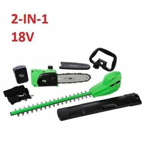 Combination Chain Saw and  Hedge Trimmer On Pole, Brand New