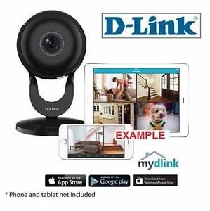 NEW D-LINK WIFI HOME NETWORK CAMERA WIRELESS DAY/NIGHT CAMERA - 180 DEGREE WIDE ANGLE - 1080P HD - SURVEILLANCE 83461031