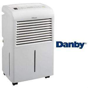 USED* DANBY 60 PINT DEHUMIDIFIER EURO GREY - PREMIERE heating cooling air quality temperature