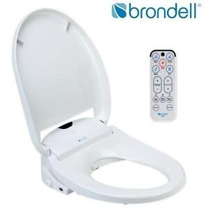NEW BRONDELL BIDET TOILET SEAT - 124897689 - SWASH 1000 ELONGATED WHITE